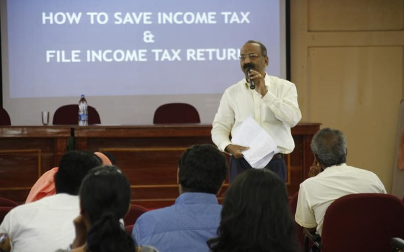 MDP on how to save tax and file tax returns by oneself