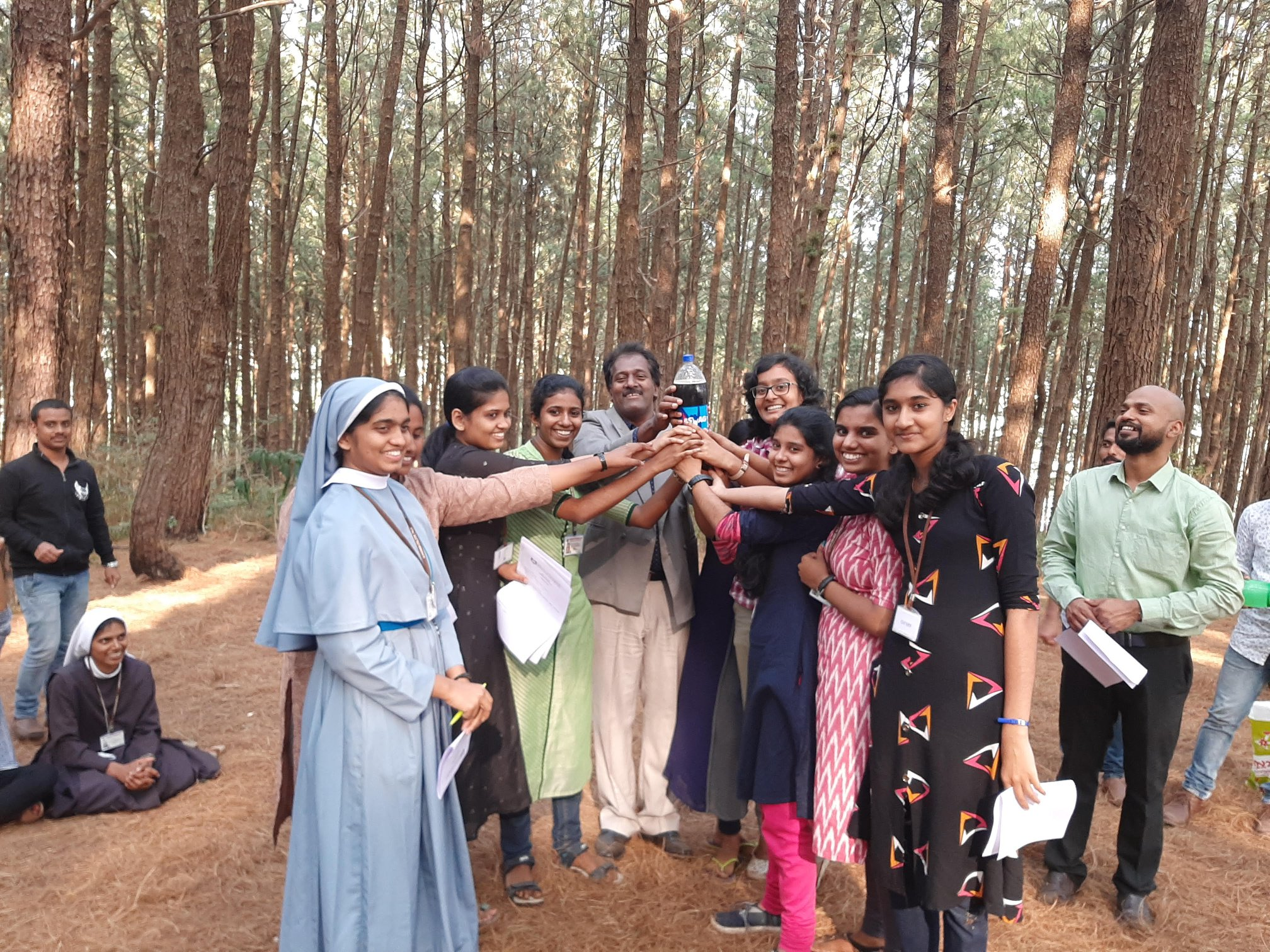 Outbound Training to the students of Alphonsa college, Pala