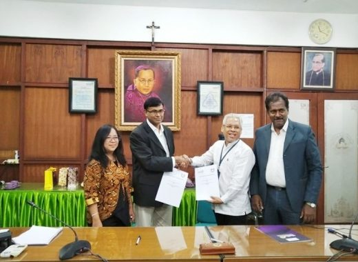 Marian International Institute of Management has signed an MOU with Soegijapranata Catholic University, Indonesia
