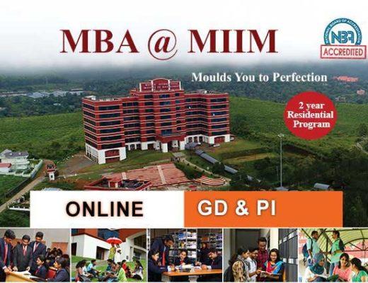 MBA @ MIIM - Top MBA college in Kerala