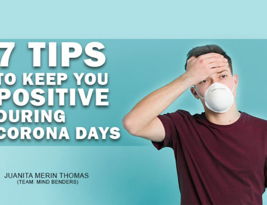 Tips to keep you positive during corona days