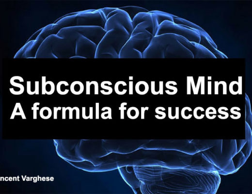 Subconscious Mind - A formula for success