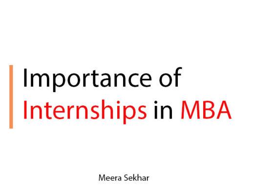 internships in mba