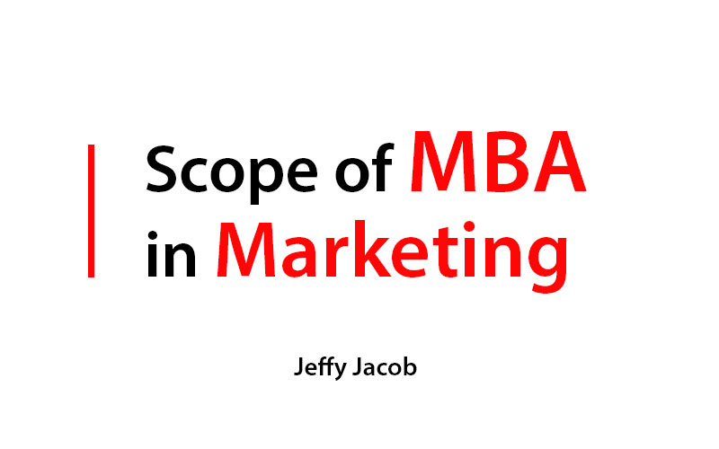 Scope of mba in marketing