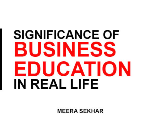 Significance of business education in Real life