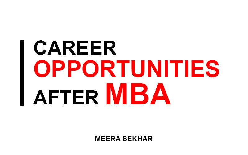 career opportunities after mba