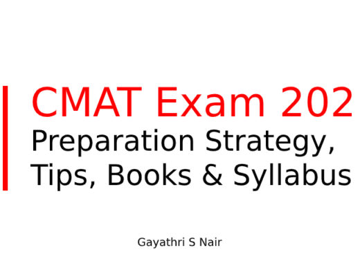 CMAT Exam 2021: Strategy, Tips, Books and Syllabus