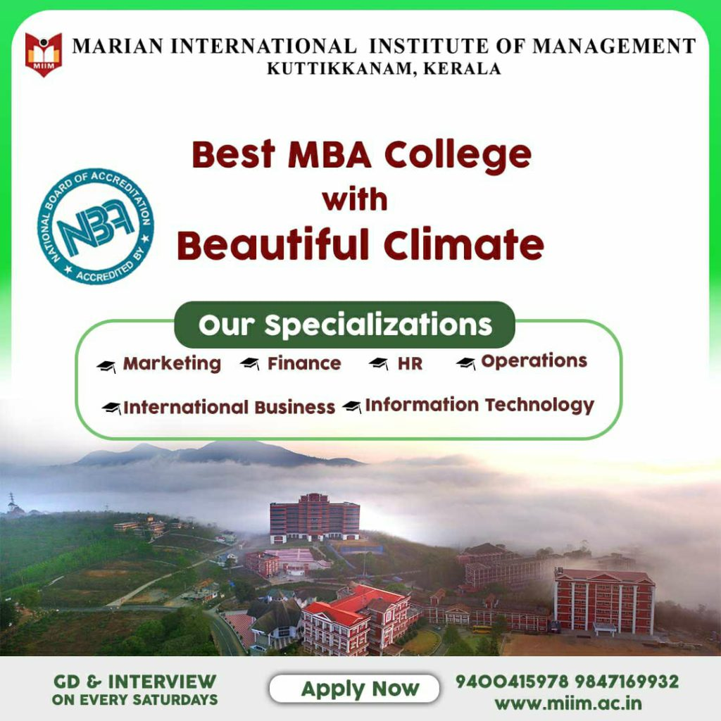 MBA Admission Started - Best MBA College with Beautiful Climate