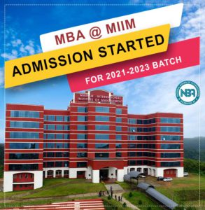 MIIM - Top MBA College MBA Admission Started