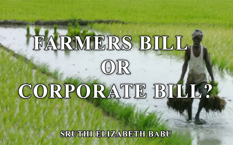 Farmers bill or corporate bill
