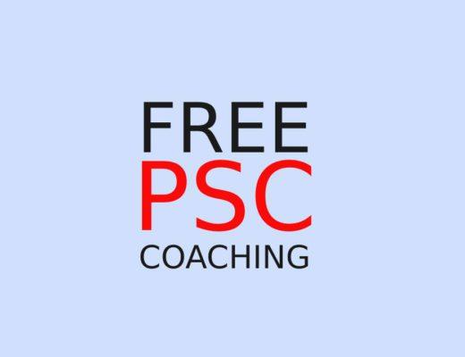Free PSC Coaching