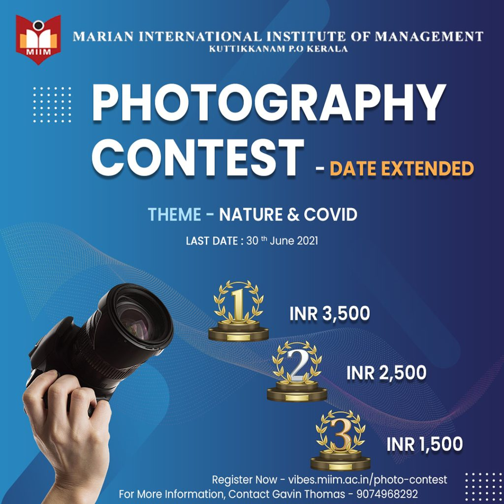 Photography contest date extended