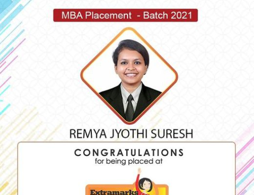 Placed at Extramarks - Remya