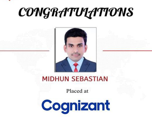 Placed at Cognizant