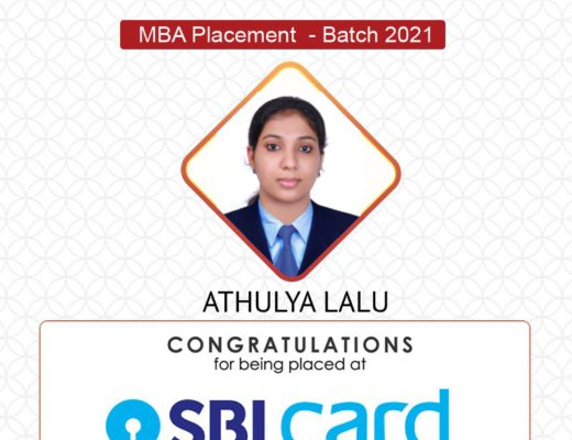 Placed at SBI Card